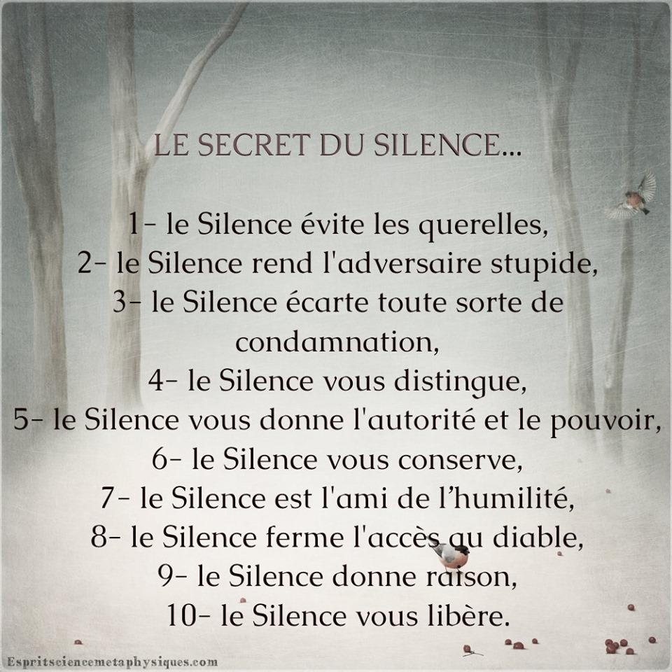 Secrets du silence