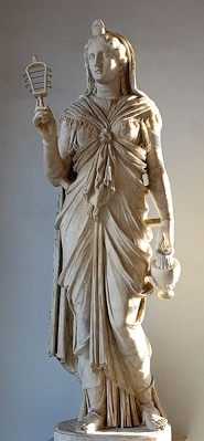 Statue de la déesse Isis - période romaine, Musée duCapitole