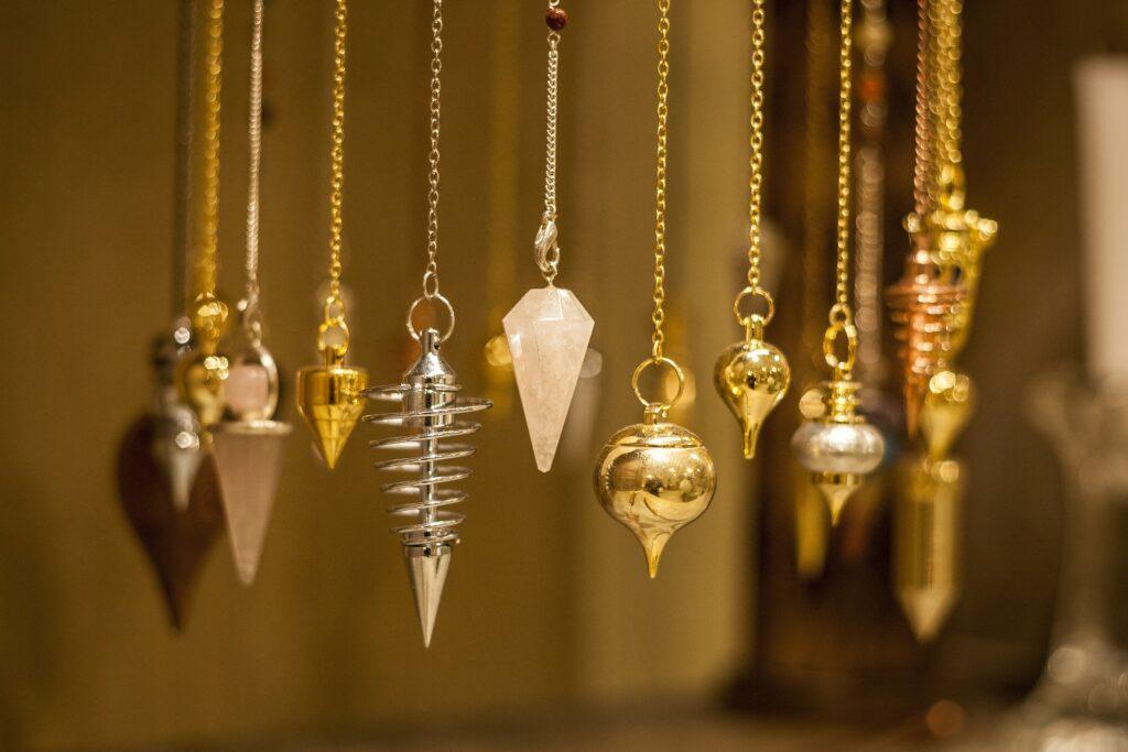 Différents types de pendules