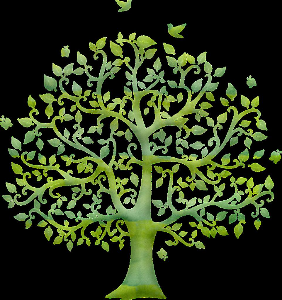 Dessin d'arbre de vie