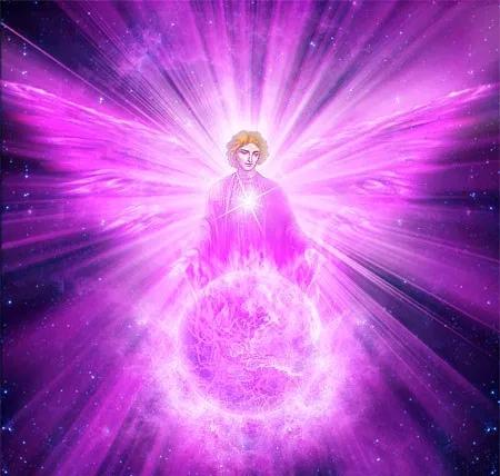 L'énergie de la Flamme Violette