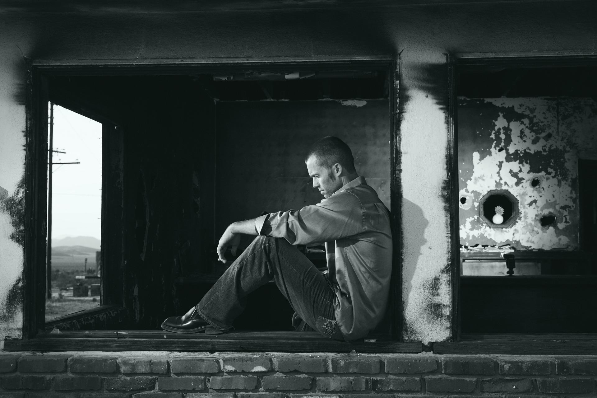 L'homme confronté à ses propres peurs, sa solitude