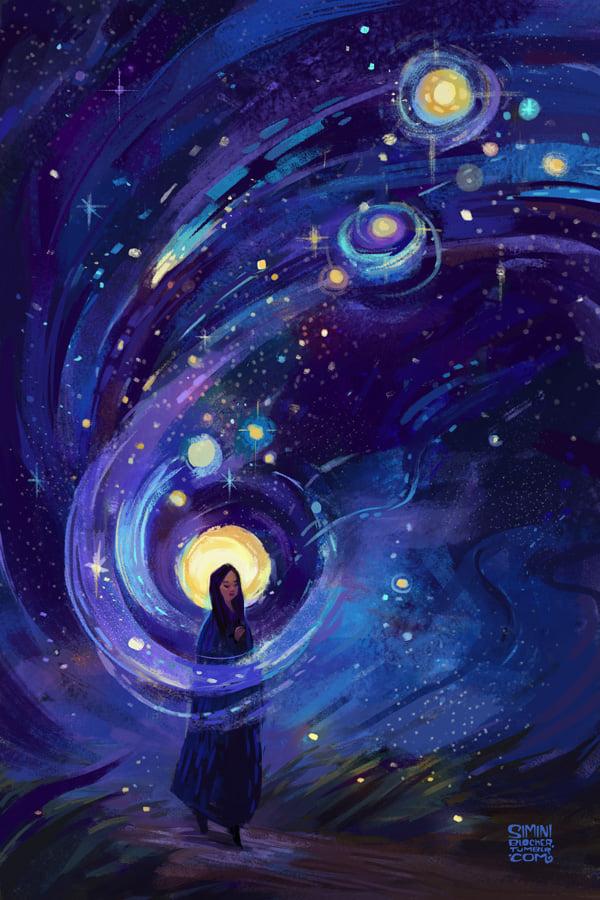 Marie, sur un Chemin étoilé