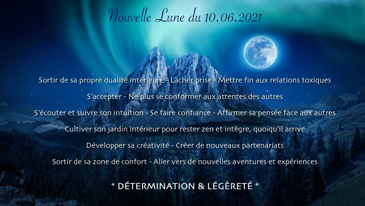 Nouvelle Lune du 10 Juin 2021