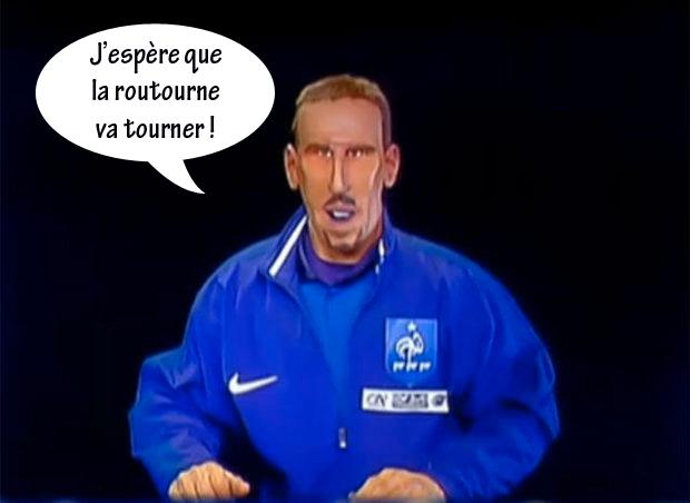 Ribéry, roue du karma