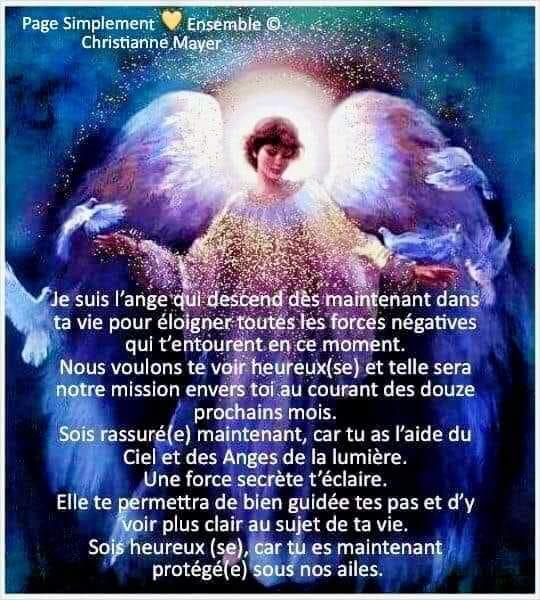 Message de vos Anges : les forces négatives sont éloignées !