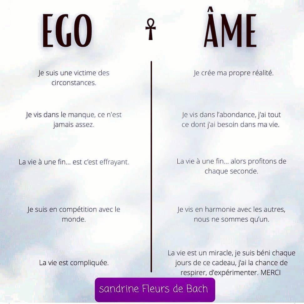 L'ego vs l'âme